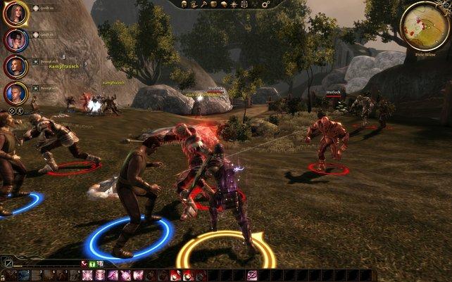 In der PC-Version sind die Kämpfe übersichtlich und taktisch. Auf der Xbox sind sie chaotisch.