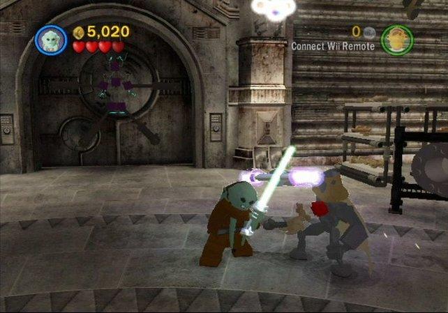 Jedi-Ritter aus Lego-Steinen bekämpfen sich. Das solltet ihr euch nicht entgehen lassen.