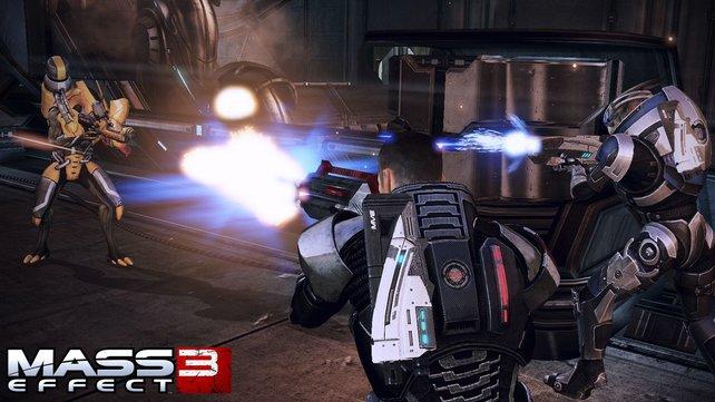 Mass Effect 3 legt Wert auf knallharte Action.