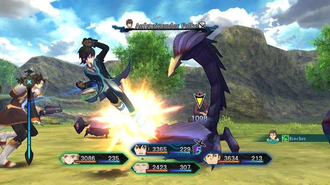 Tales-typisch überzeugt das Kampfsystem auf der ganzen Linie.