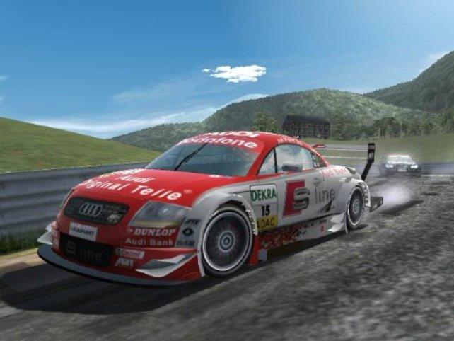 Gleich zu Beginn des Spieles landest du in solch einem Audi