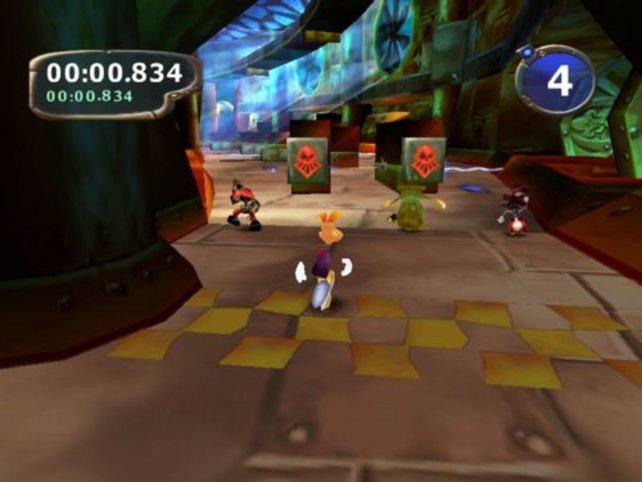 Rayman rennt