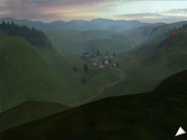 Ein sehenswerter Blick ins Tal