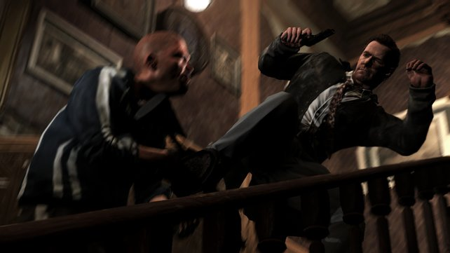 Wer sich mit Max Payne anlegt, bekommt Magenschmerzen.