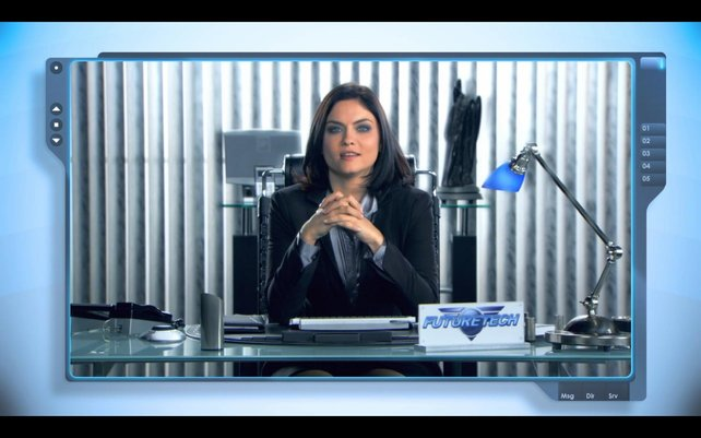 """Neue Schauspieler warten in den Cutscenes, diese Dame kennt ihr vielleicht aus """"Prison Break""""."""