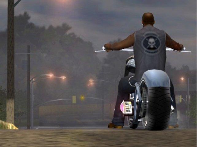 Auch Motorräder sind im Spiel enthalten