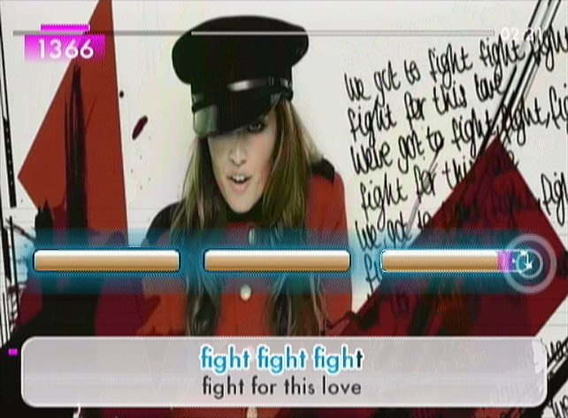 We have to fight for a good karaoke game!
