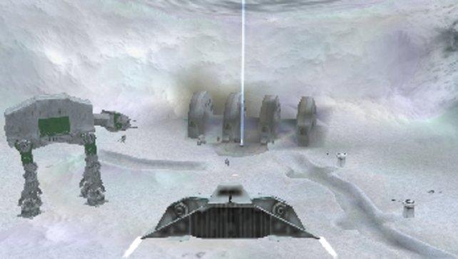 Auch der Eisplanet Hoth ist im Spiel vertreten.