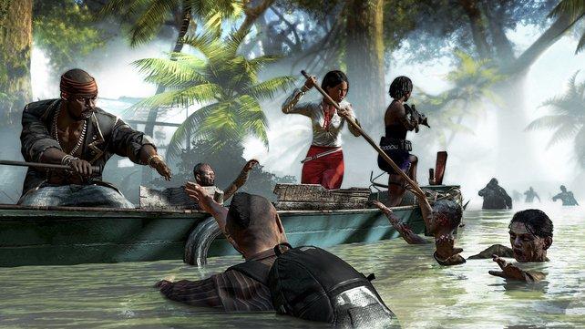 In Dead Island - Riptide könnt ihr auch Boot fahren.