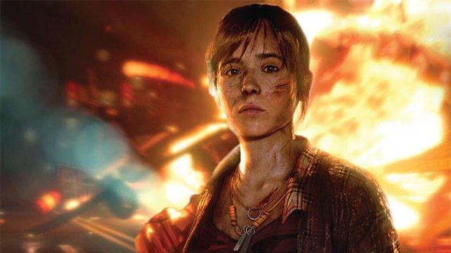 Beyond - Two Souls sieht gnadenlos gut aus ... Und Ellen Page natürlich auch.