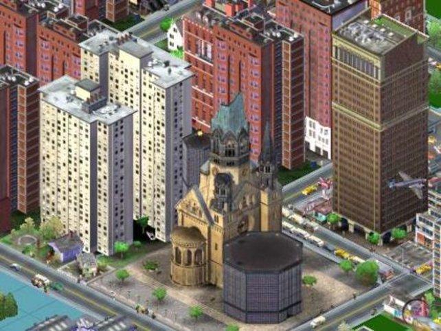 Das Spiel enthält neben anderen auch viele deutsche Sehenswürdigkeiten.