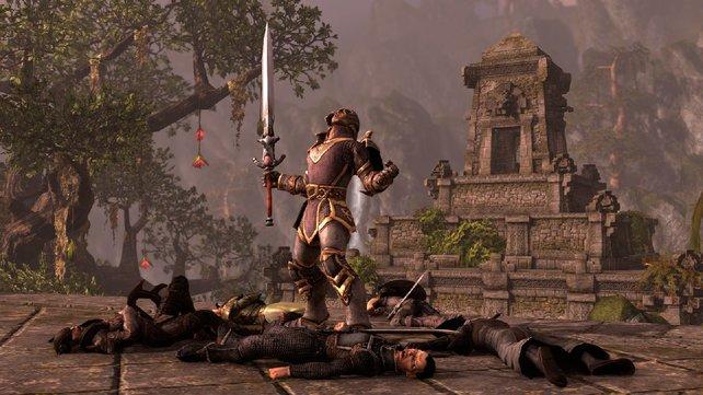The Elder Scrolls Online will nicht wie jedes andere Online-Rollenspiel sein.