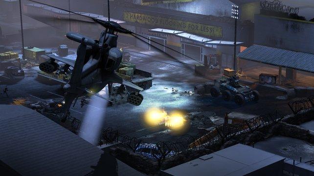 Als Marinepilot kann unser Vaterlandsverteidiger natürlich Hubschrauber fliegen. Welche Vehikel es noch gibt? Geheim.
