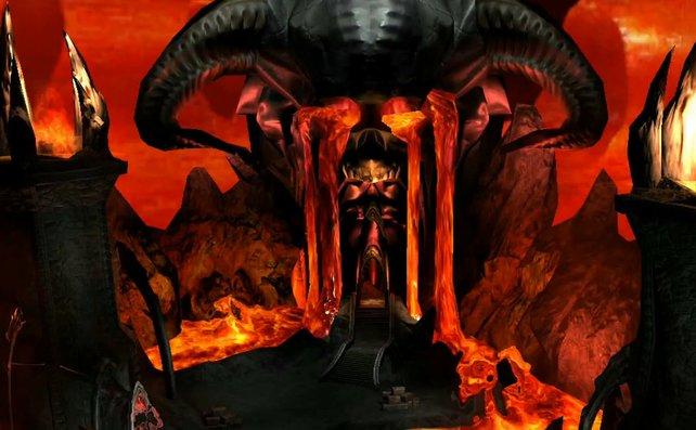 """In den """"Lost Missions"""" seid ihr mitunter wieder in der Hölle unterwegs, wie diese Szene suggeriert."""