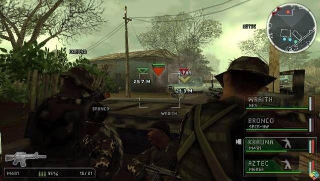 In Tactical Strike habt ihr die Kontrolle über vier Soldaten.