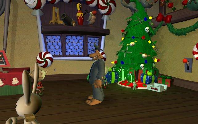 Was für ein schöner Weihnachtsbaum!