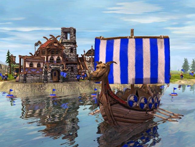 Ein Wikingerschiff