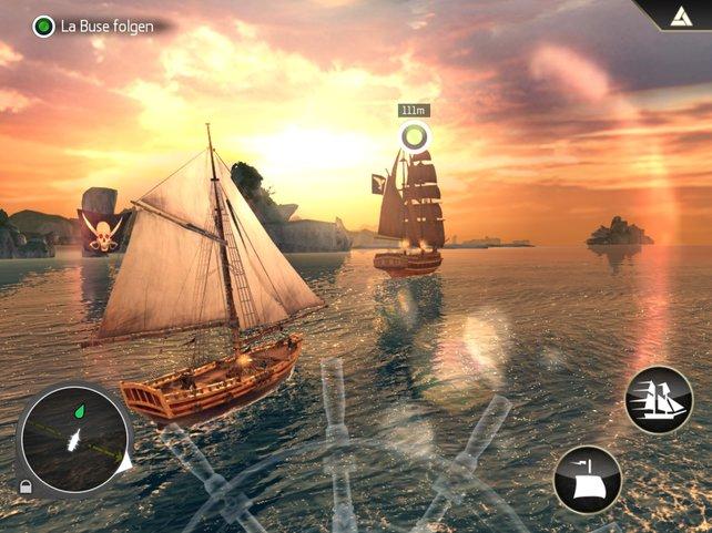 Bei den Seefahrten kommt schnell die passende Piratenstimmung auf.