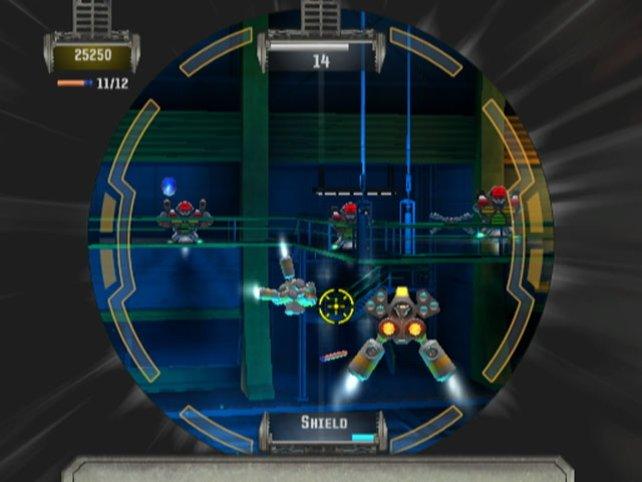 Den Kurzsichtigen wird mit einem Zielfernrohr geholfen, hübscher werden die Roboter dadurch jedoch nicht