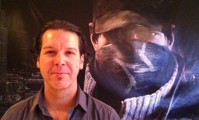 Danny Belanger aus dem Team von Watch Dogs.