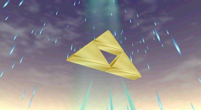 Das Triforce hätte wohl jeder Spieler gerne mal in den Händen. Das bleibt aber wohl ein Traum.