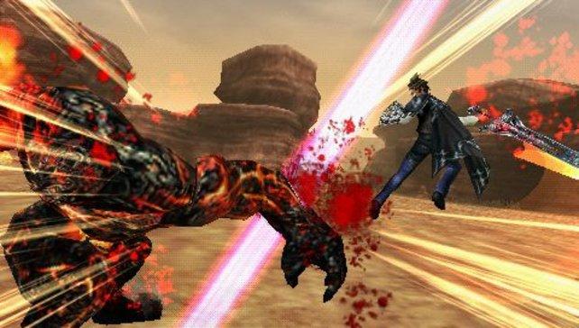Im Gegensatz zum Vorbild Monster Hunter bietet Lord of Arcana spektakuläre, aber unrealistische Klingen-Action.