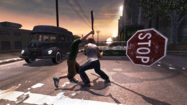 Stoppt Gewalt im Straßenverkehr!