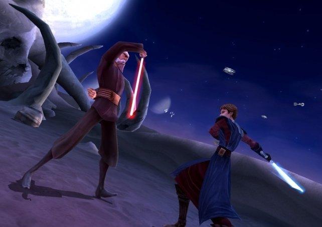 """Grafisch kann """"Lightsaber Duels"""" mit den übrigen neuen """"Star Wars""""-Titeln nicht mithalten"""