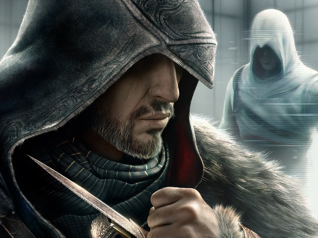Sowohl Ezio als auch Altair aus Teil 1 sind spielbar.