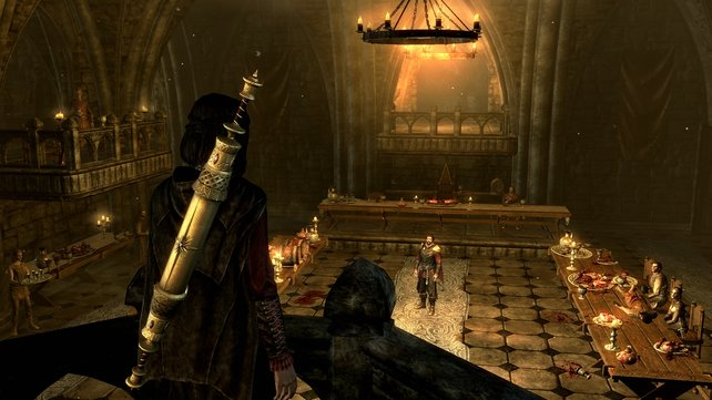 Hier zu sehen: Das Gericht der Vampire. Außerdem rechts zu sehen: Das Gericht der Vampire.