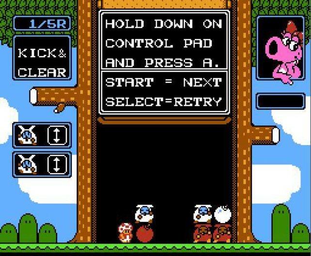Wario's Woods, das letzte aller lizenzierten NES-Spiele