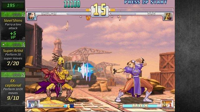 3rd Strike ist vielleicht pixelig, dafür aber butterweich animiert.