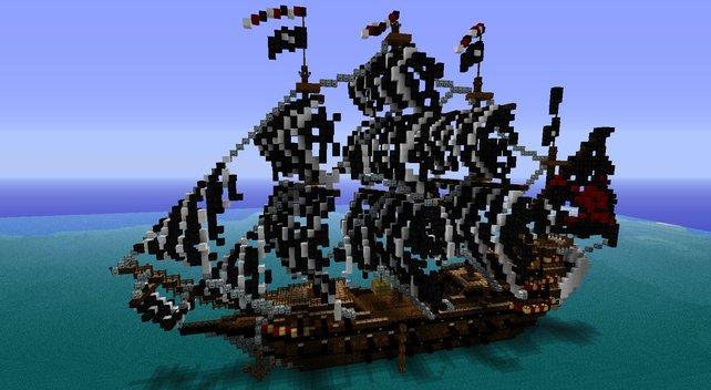 Dieses Piratenschiff lässt sogar Captain Jack Sparrow neidisch werden.