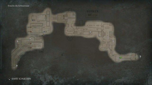 Die Karte liefert einen guten Überblick. Findet ihr eine im Spiel, werden auch Fundsachen eingezeichnet.
