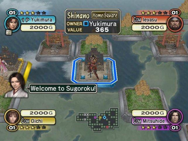 Sugoroku spielt sich wie Monopoly.