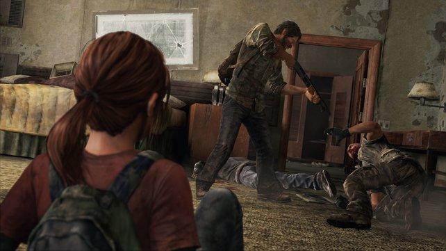 Szene aus The Last of Us: Ob ihr jetzt abdrückt, liegt bei euch.