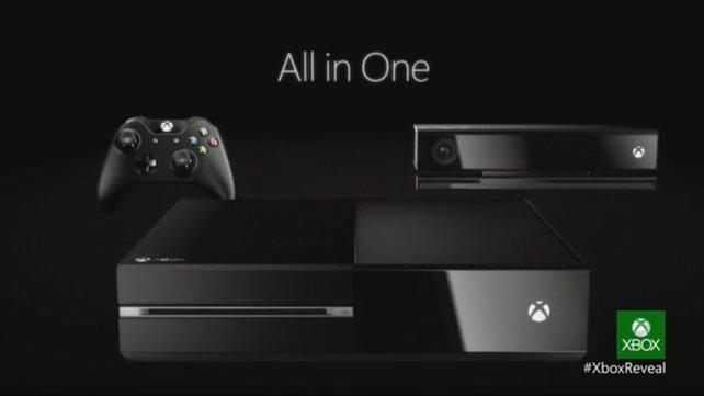 """Der Name """"Xbox One"""" symbolisiert, dass die Konsole alles in einem liefert."""