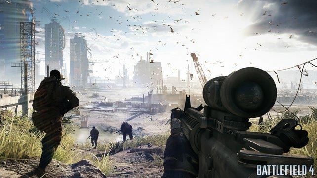 Weitläufige Szenarios und überzeugende Beleuchtung zeichnen Battlefield 4 aus.