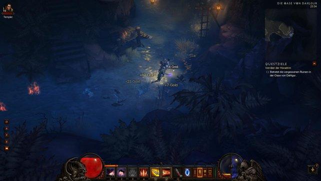 Diablo wirkt zu großen Teilen angemessen düster.
