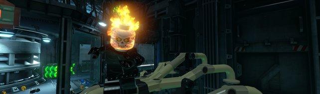 Ghost Rider zeigt, was er kann ...