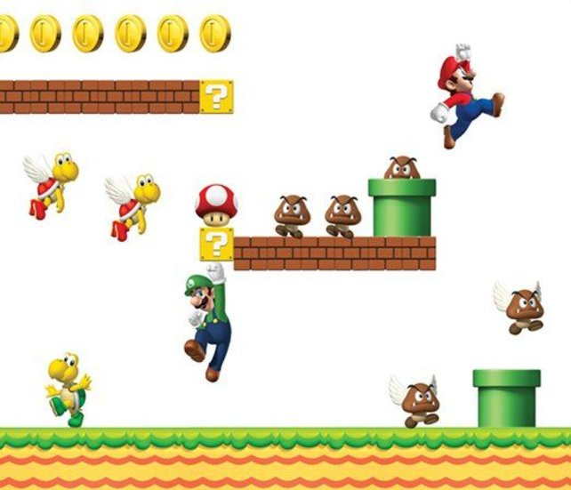 Lasst Mario durch euer Wohnzimmer springen.