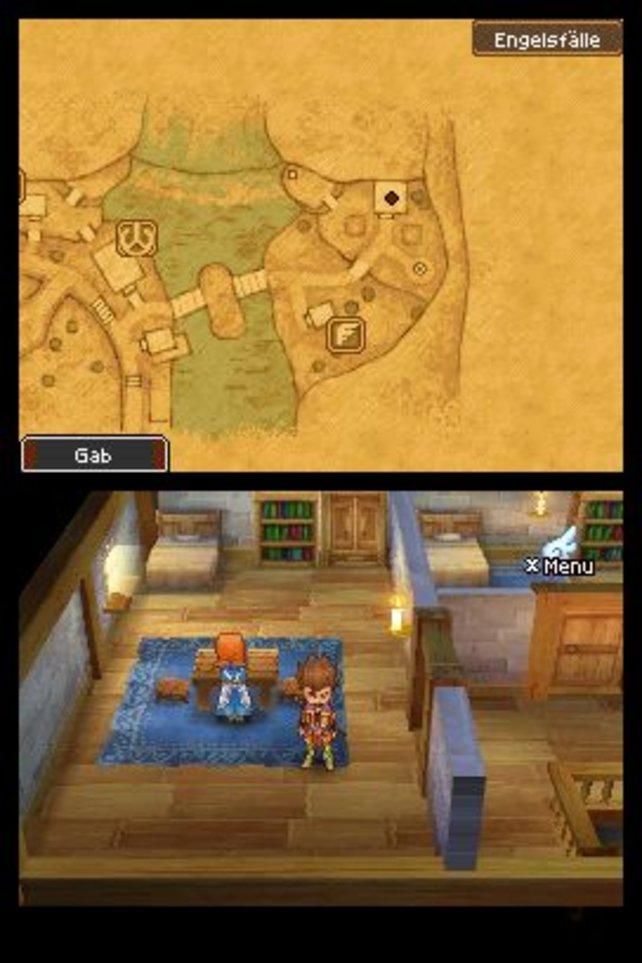 Eine große Spielwelt ist unter anderem für die Faszination von Dragon Quest 9 verantwortlich.