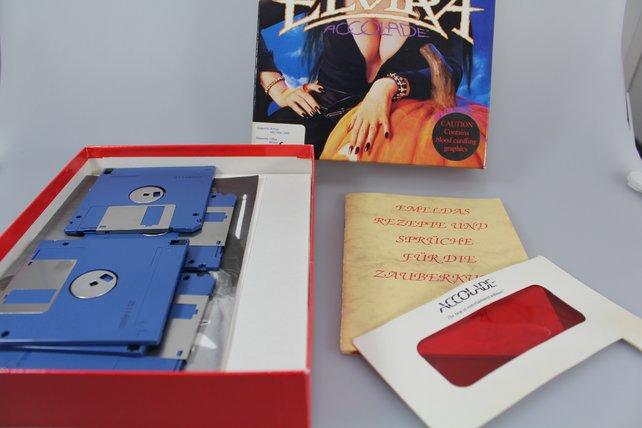 Das Zauberbuch in Elvira enthält die Zutaten für Zaubertränke.