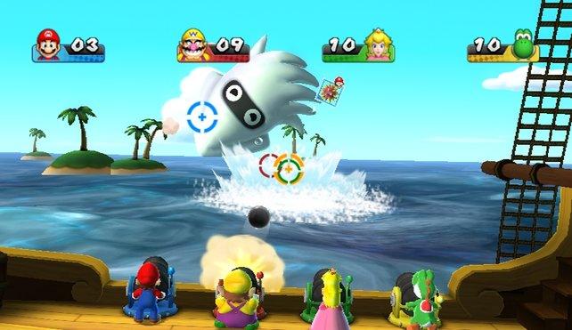 Die spaßigen Minispiele erfordern Reaktion, Denkarbeit oder bloßes Knöpfedrücken.