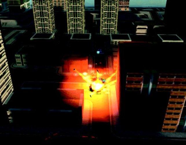 Eine fürchterliche Detonation erschüttert die Stadt!