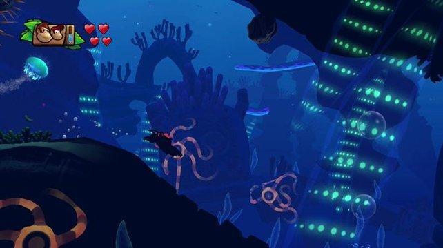 Die Unterwasserlandschaften sind so schön und stimmungsvoll wie in allen vorangegangenen Teilen der Serie.