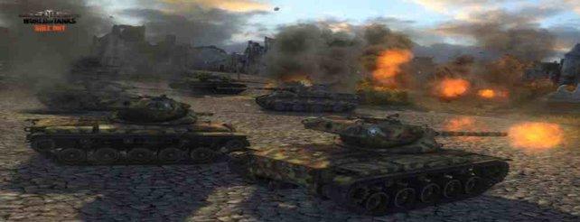 World of Tanks: Erfahrungsboni und Rabatte