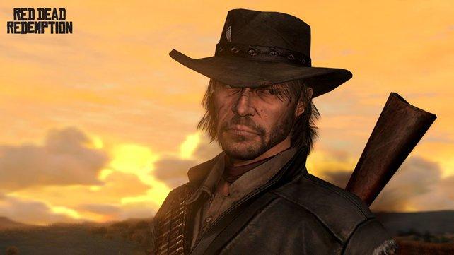 John Marston - der kantige Held in dem wohl besten Western-Spiel.