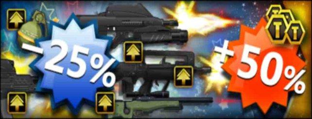 Brick-Force: Rabatt auf schwere Waffen dieses Wochenende