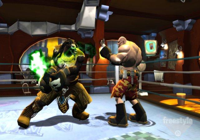 Die unterschiedlichen Kämpfertypen haben auch alle einen individuellen Kampfstil.